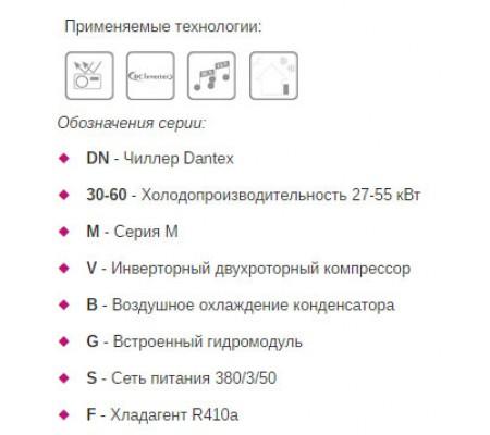 Чиллер Dantex DN-030-090MVB/SF