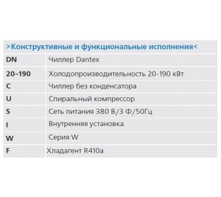 Чиллер Dantex DN-20-190CUSIWF