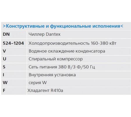 Чиллер Dantex DN-524-1204VUSTIWF