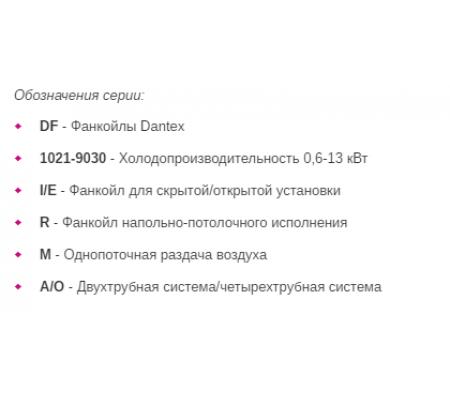 Фанкойл Dantex DF-10-80IRMA(O)
